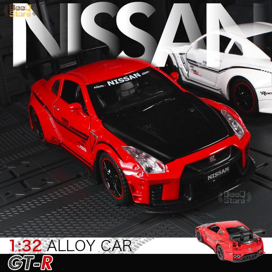 NISSAN Alaşım R35 01:32 GTR Vücut yarışı Geniş Araç Modeli Diecasts Vasıta Yenileme Tarihi Yarışı Otomobil Kid Oyuncaklar Çocuk Boy Oyuncak