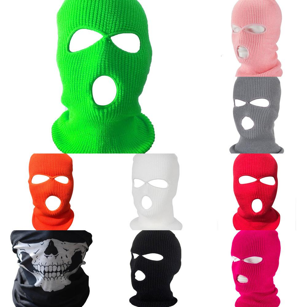 Hat Winter Cover Neon Mask Green Halloween Caps for Party Motorcycle Bicycle Ski Cycling Balaclava Pink Masks 6591