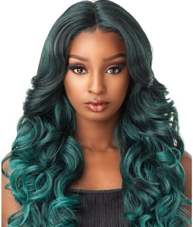 Livraison gratuite bonne perméabilité à l'air Dreamy mode verte européenne et couvre-chef cheveux longs américains Plus rabais pour la grande quantité