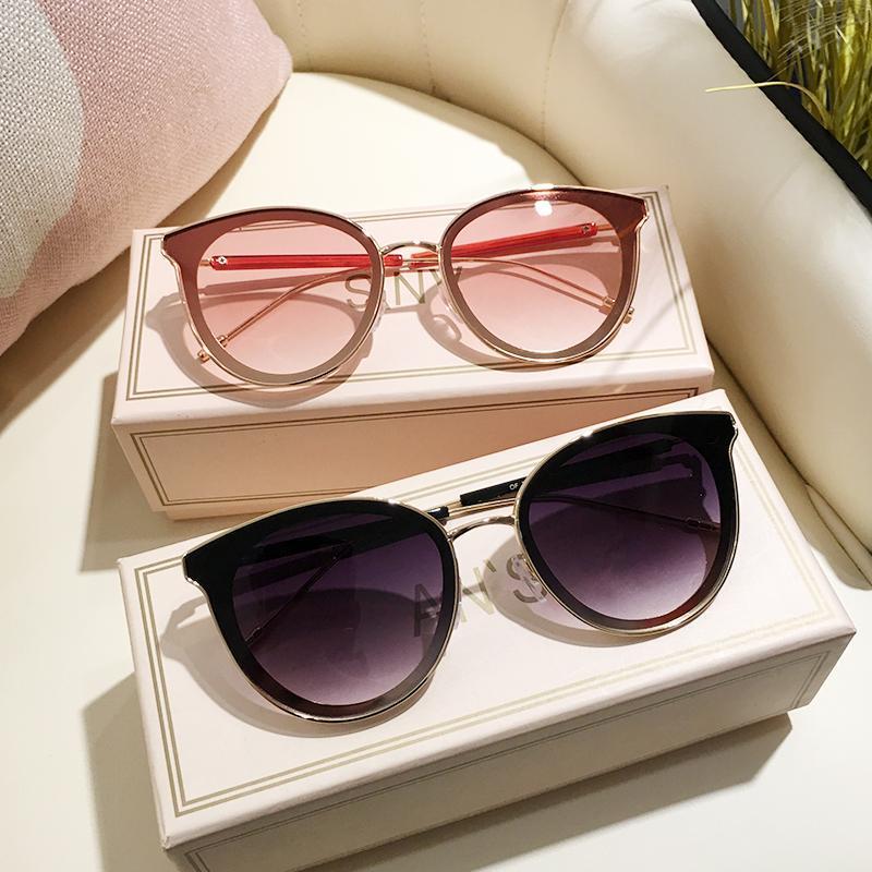 MS Marca Designer 2020 New Cat Eye Mulheres Sunglasses Moda Feminina óculos de sol UV400 gafas de sol Eyewear