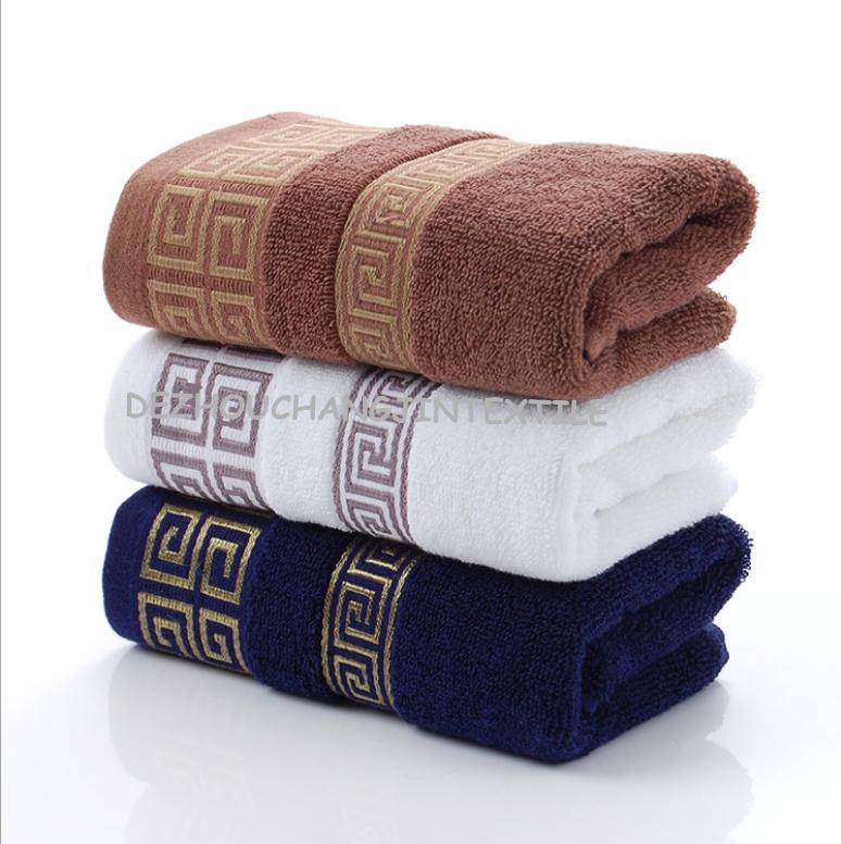 Fabbrica di cotone diretto 32 azioni 110g jacquard asciugamano regalo mercant super all'ingrosso