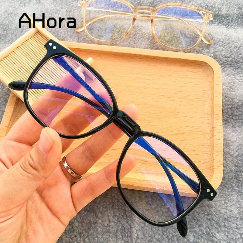 Ahora Jelly квадратные очки кадр негабаритные четкие линзы Оптическая отделка для женских очков очки очки мода 2020 new1