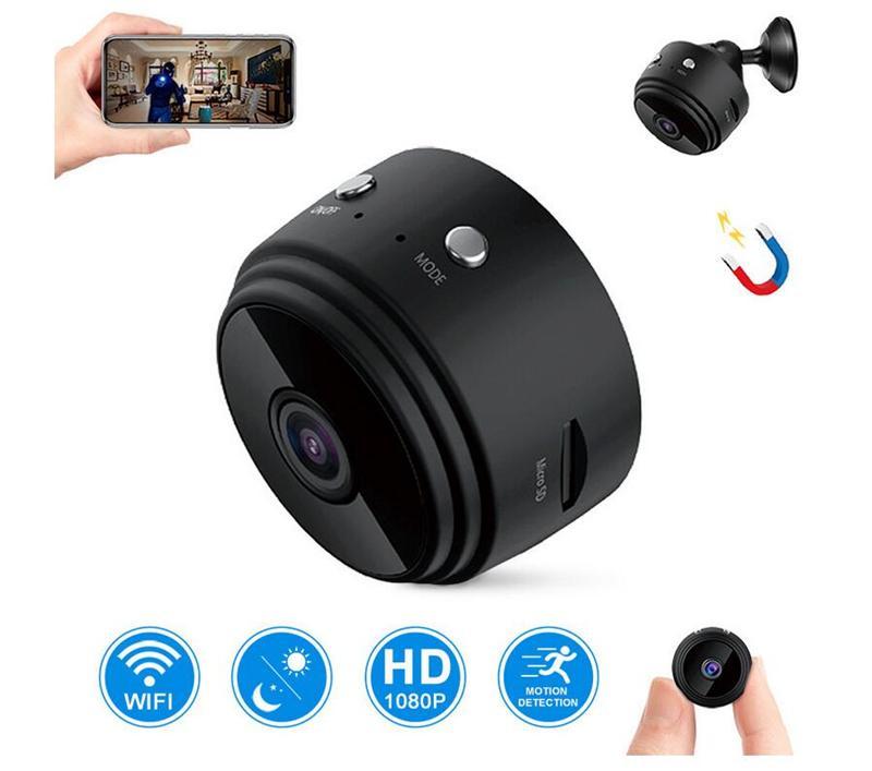 A9 1080P 풀 HD 적외선 공중 DV 스파이 비디오 캠 와이파이 IP 무선 보안 숨겨진 카메라 실내 감시 야간 투시 캠코더