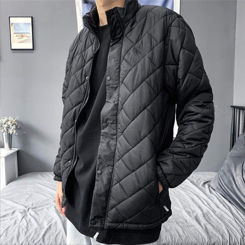 Yeni Moda Erkekler Sıcak Ceket Casual Sport Streetwear Womens ceketler Aşağı Sıcak Kalite Ceket Coat Kafes Tops