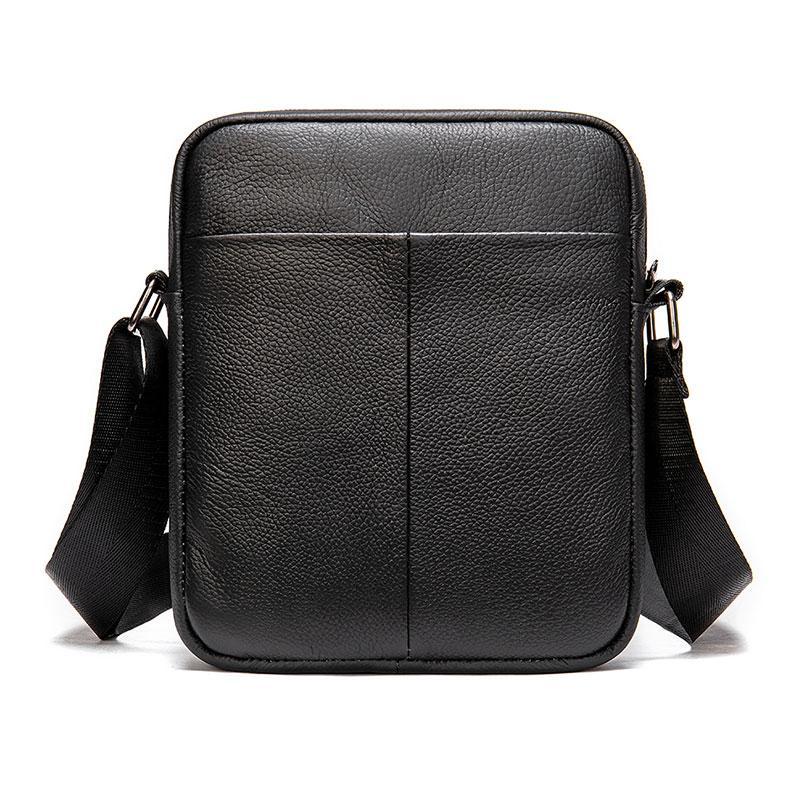 HBP erkek yeni tote çanta hakiki deri omuz çantaları erkekler messenger çanta mini crossbody omuz çantası deri rahat çanta erkek için