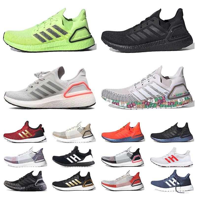 ultra boost 2020 Ultraboost 20 UB 6.0 Koşu Ayakkabı Erkek Kadın Ultra Se Üçlü Beyaz Küresel Döviz Altın Metalik Run Işık Chaussures Eğitmenler Sneaker
