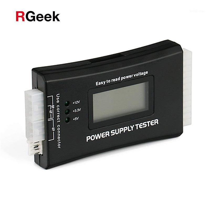 Computer Cables & Connectors Digital LCD Display PC 20/24 Pin Power Supply Tester Checker Measuring Diagnostic Tools1