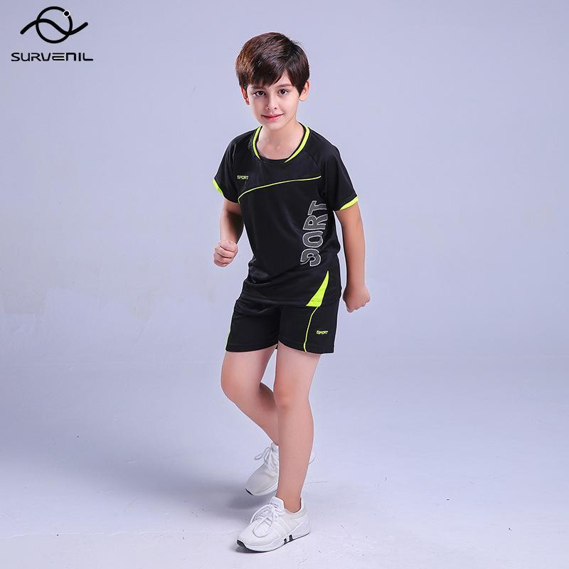 Kinder Fitness Gym Kleidung Kinder Laufanzug Basketball Fußball Anzug Trainingsjogginganzüge Sportbekleidung Workout Sets