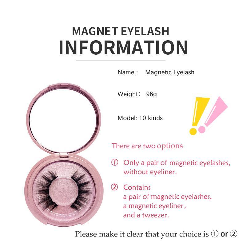 Kein Kleber Magnetic Einrollen Wiederverwendbare falsche Wimpern Roségold Naturgetreue und natürliche Wiederverwendbare Einrollen Leicht Novice Pinzette zu bedienen