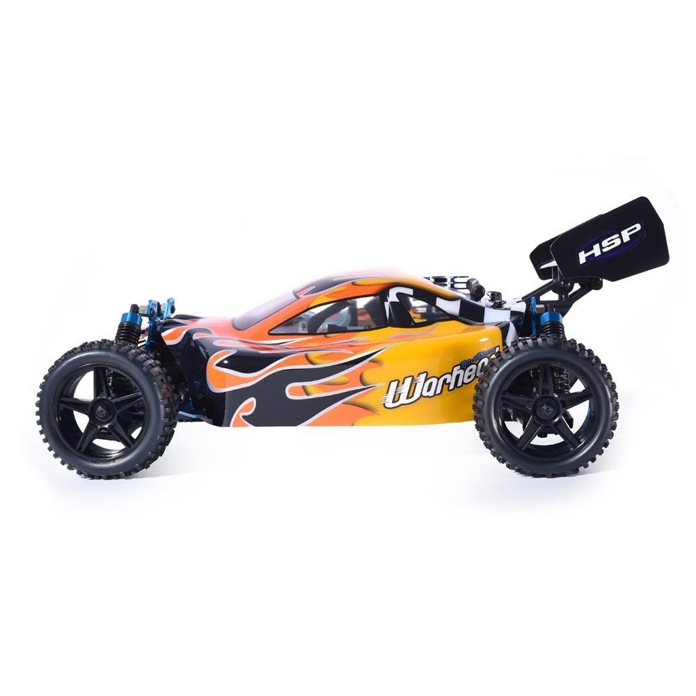 HSP RC Auto 1:10 Maßstab 4WD RC Toys Zweigeschwindigkeitsfreie Straße Buggy Nitro Gasleistung 94106 Warhead High Speed Hobby Fernbedienung Auto 201203