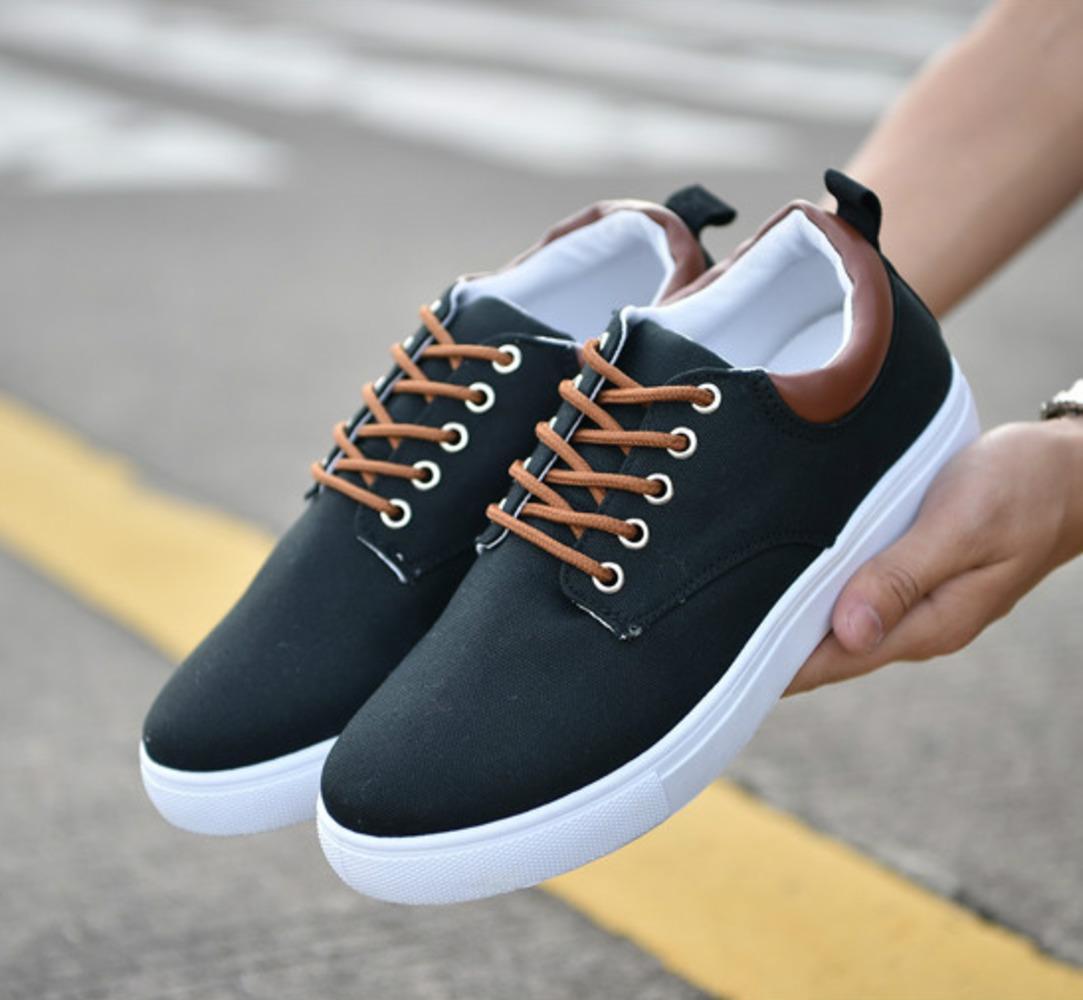 Yumuşak Kahverengi Kırmızı Mavi Gri Siyah Beyaz Style5 Renkli Düşük Kesim Rahat Ayakkabılar Erkek Eğitmen Tasarım Nefes Spor Sneakers Yeni Varış 39-44