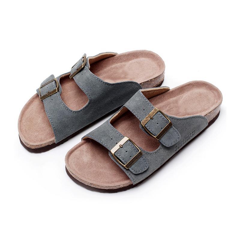 Newly Men Women Sandal Breathable Anti-slip Flat Slipper for Summer Beach DO99 1010