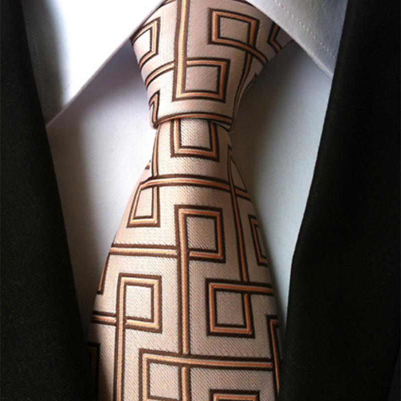 Classique 8cm Slik Plaid Floral Tie formelle Bule rouge Jacquard Netie pour les hommes d'affaires de mariage Newear Accessoires Cadeaux Liens