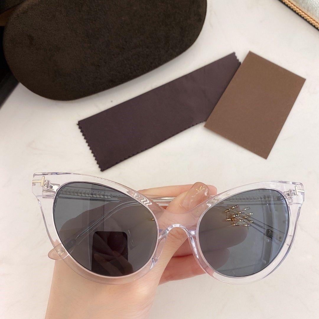 Nova marca de moda senhoras projeto estilo único óculos de sol, placa importada full frame óculos em forma de morcego 820