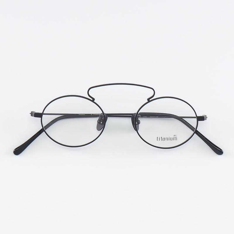 Cubojue Titanyum Gözlük Çerçeveleri Erkek Vintage Nerd Gözlük Erkekler Oval Altın Ultralight Lennon Reçete için Retro Gözlükler1