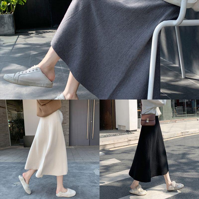 v2Ffg Fashion Shorts Lining Mini Skirts dan skirt set Crotch Cover Pleated Ladies Wide Waist Solid Female Skirt Knitting Short Skirt