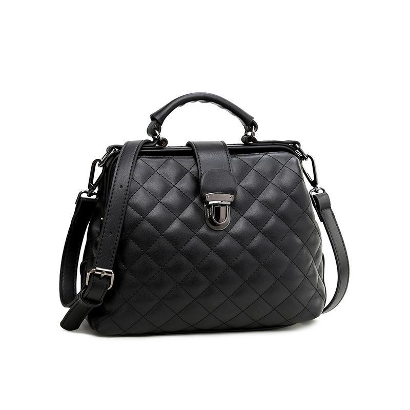 HBP حقيبة يد الطبيب حقيبة كتف حقائب رسول حقيبة محفظة جديد مصمم امرأة حقيبة بسيطة الرجعية أزياء سيدة