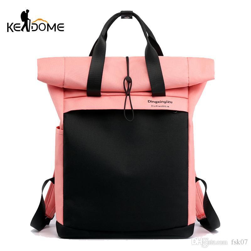 حقيبة سفر مضادة للسرقة المرأة المرقعة الرياضة رياضة حقيبة ماء اللياقة كمبيوتر محمول حقيبة كمبيوتر محمول SAC دي سبورت KG-243