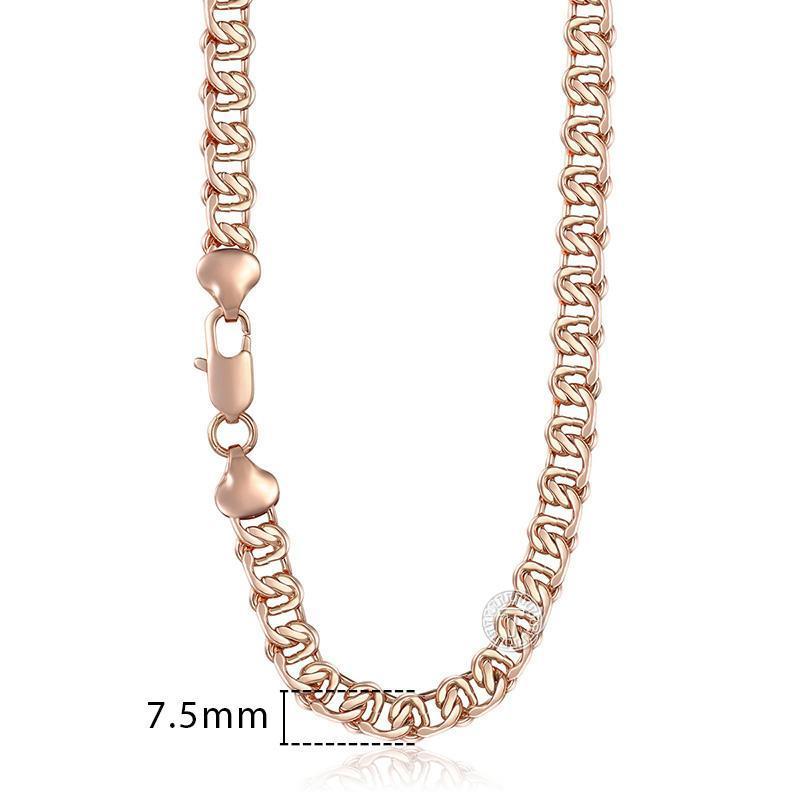 Uomo Donna Rosa Gnn1 45 centimetri Per Lumaca doni collana in oro 585 donne 60 centimetri di collegamento Chain Jewelry 50 centimetri Curb yxlPez bde_jewelry