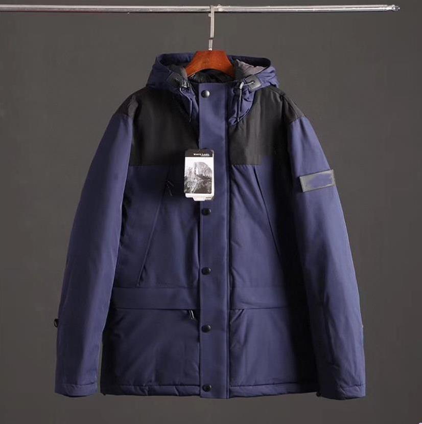 뜨거운 판매 2019 높은 품질의 새로운 브랜드 겨울 NORTH 남성의 럭셔리 후드의 얼굴 재킷 디자이너 얇고 가벼운 다운 재킷 코트 M-XXXL