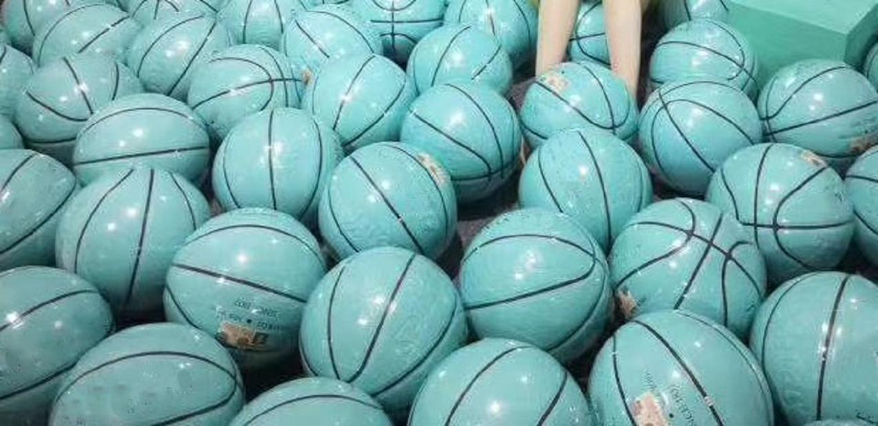 With Box EUR Cup basketball 2020 size 54.5CM Spalding joint basketball global limited edition supply hococal top quality ball