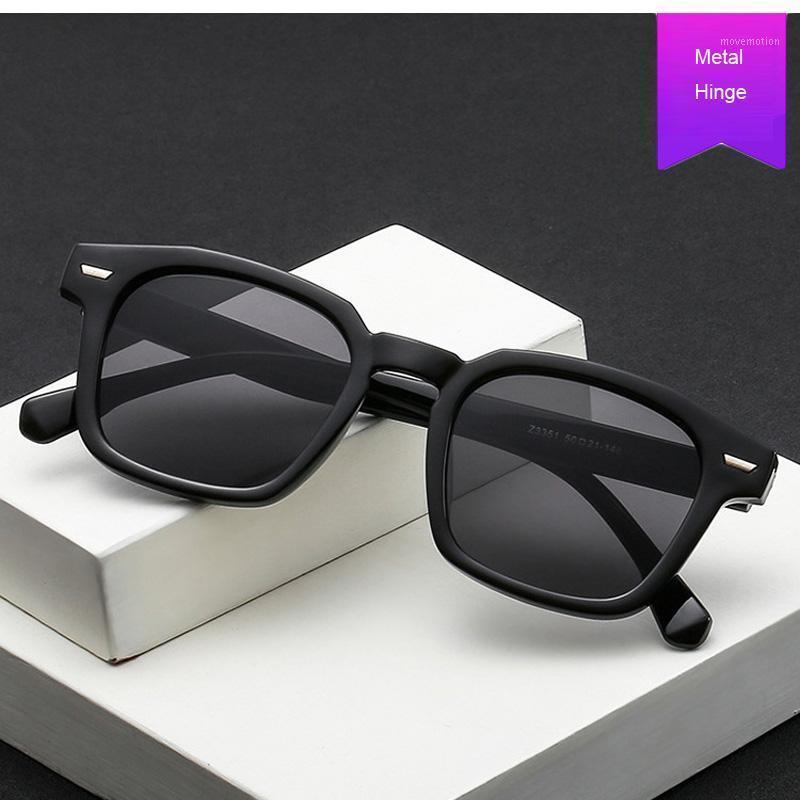 Bayanlar Kare Erkek Moda Retro Gözlük Unisex Güneş Gözlüğü Kadınlar Vintage Gözlük Gözlük1 UV400 Kadın Klasik Sun VVRIF