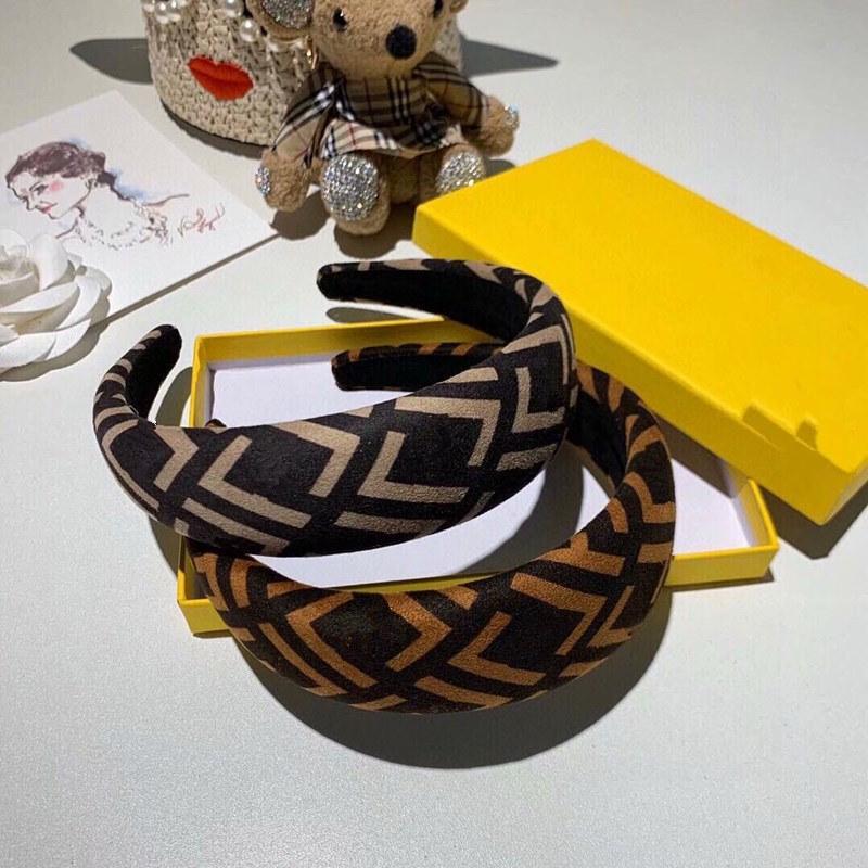 Mode Neue Stil Klassischer Brief Muster Top Qualität Haarband Geometrische Muster Druck Haarband Frauen Haarschmuck Großhandel