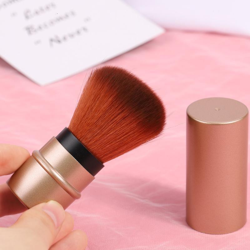 Belleza Maquillaje Gadget Portátil Money 2 Paquete Pelaje suave Fundación cómoda Reparación multifuncional Cepillo cosmético T3FC