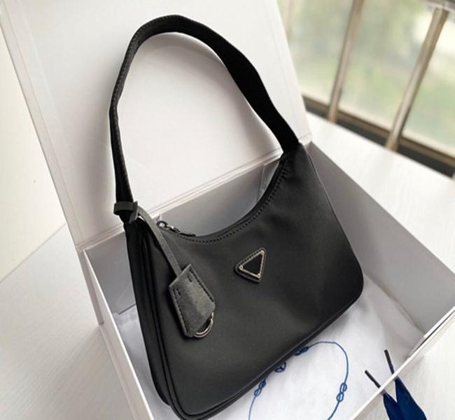 Top quality New Women's Re-edition tote Nylon leather Shoulder Bag Luxury Designer Women's Shoulder Bag Crossbody Bags Handbag free shipping