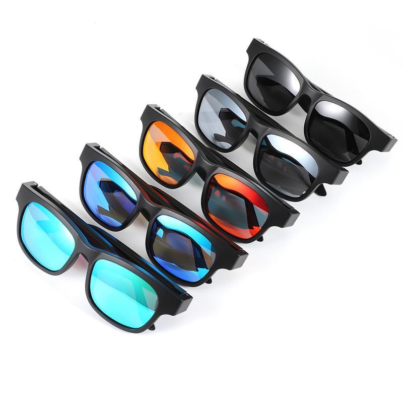 nuevas gafas de sol de audio A12 Bluetooth inteligente contestar llamadas y escuchar música de Bluetooth gafas de sol gafas de altavoz bluetooth inteligentes