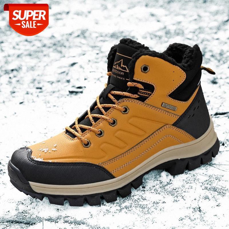 Мужчины ботинки 2020 весенние ботинки ботинки обувь зима натуральная кожаная обувь мужчина панк повседневная езда коварные ботас гомбе плюс размер 37-47 # AE3W