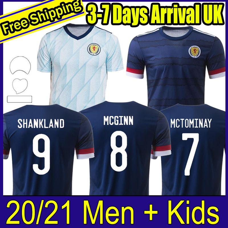 Scotland Soccer Jersey Robertson 2020 2021 Forrest McGinn Scotland Retro Jerseys Classic 1982 1986 94 96 1998 Hommes Kids Kits Chemises de football
