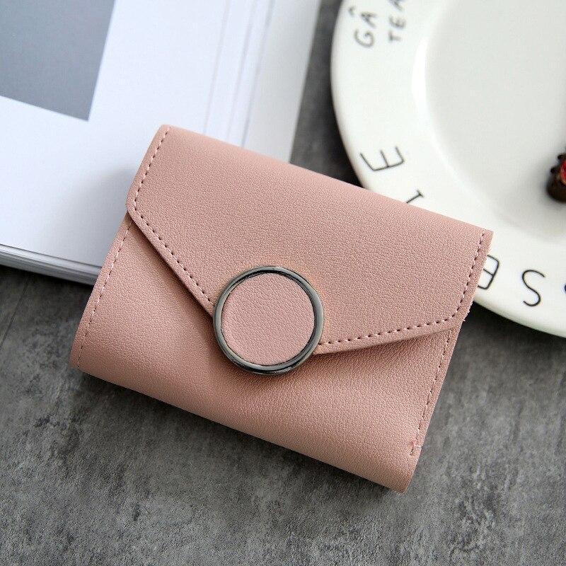 Frauen Geldbörsen Kleine Mode Marke Leder Geldbörse Frauen Damen Karton Tasche