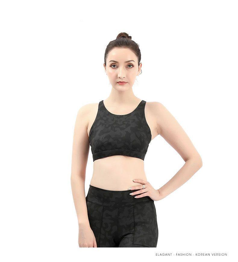 النساء الرياضة الصدرية القمم تأثير عالية للياقة اللياقة البدنية اليوغا تشغيل الوسادة اقتصاص أعلى الرياضة خزان اليوغا قمم الرياضة رفع البرازيلي المرأة