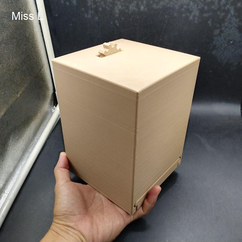 18 * 13 * 13 سنتيمتر جوربيل داخل الدماغ دعابة الثابت لغز مربع السري لعبة هدية الذكاء هواية المقتنيات العقل لعبة PLA المواد