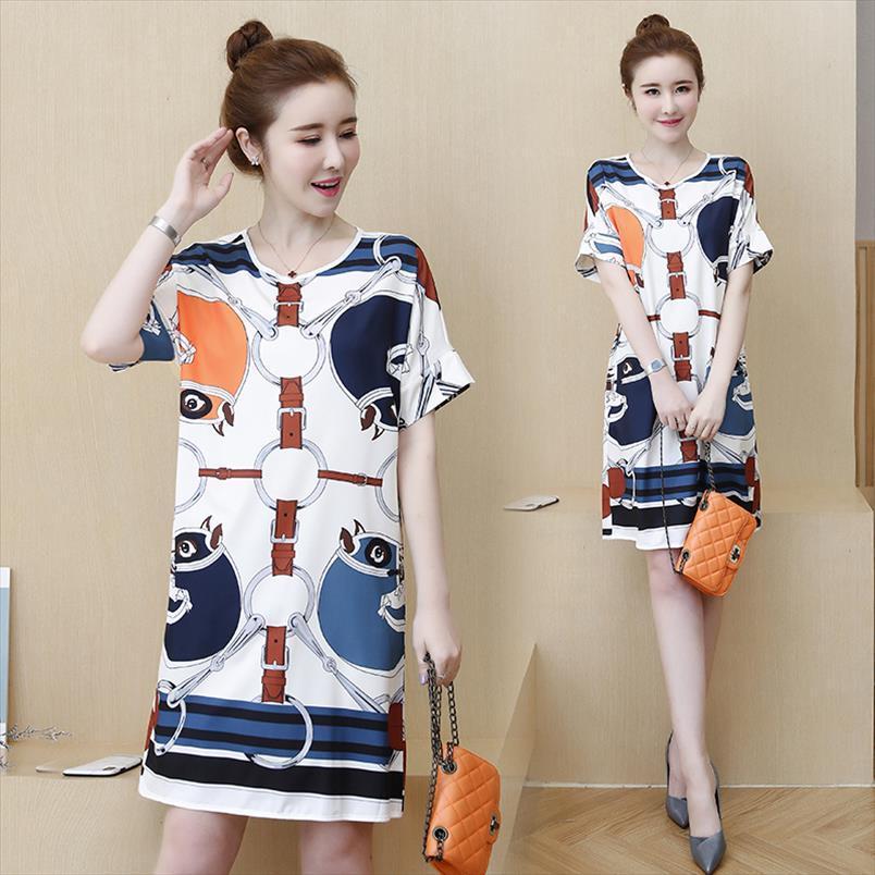 womens woman ladies summer big plus size L 5XL dress XXL XXXL 3XL XXXXL 4XL slim Casual loose blouse blusas beach Floral