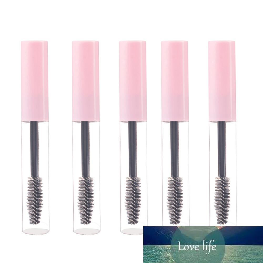 5 PCS 10ML Mascara Tubes vides Cils Crème rechargées Bouteilles Rose / Blanc cosmétique Exemple de conteneur avec Cils brosse bâton