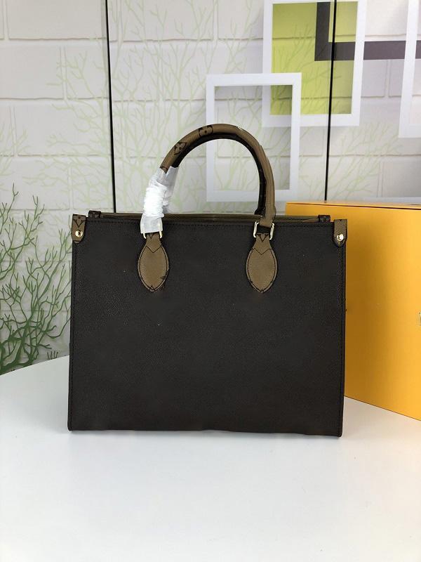 Top-of-the-line de couro de alta qualidade bolsa senhoras bolsa de bolsa do ombro tamanho: 34 / 41cm