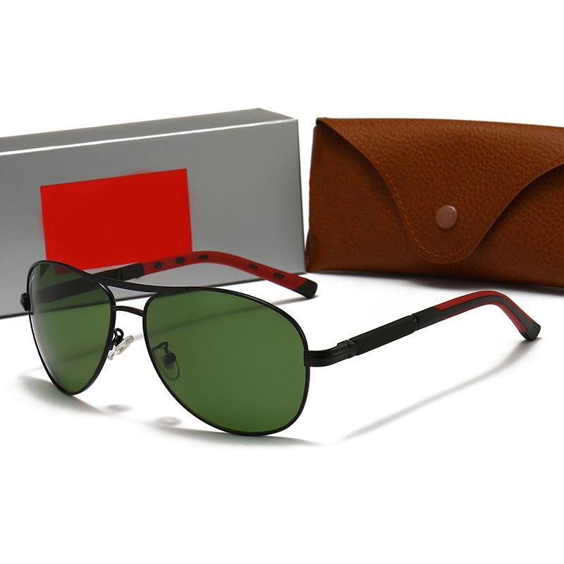 Mode Sunglasses Marques Designers avec logo Haute Qualité UV400 Toutes les saisons Lunettes de vue Eyewear 4Couleurs Original Box 4827