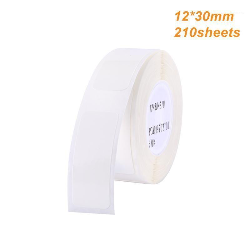 50 рулонов Тепловая печать этикетка бумаги штрих-код Размер цен на имя пустые этикетки водонепроницаемый слез устойчивый 12 * 30 мм 210 шт. / Roll1
