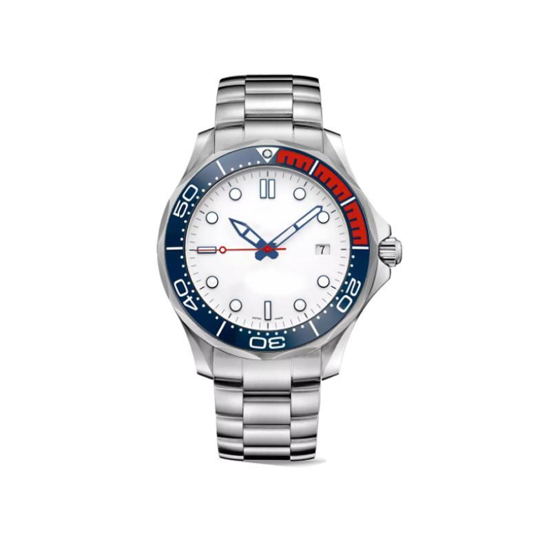 ساعة رجالي مضيئة كرونوغراف VK اليابان كوارتز حركة جيمس بوند 007 فاخرة ووتش الرياضة مونتر دي لوكس