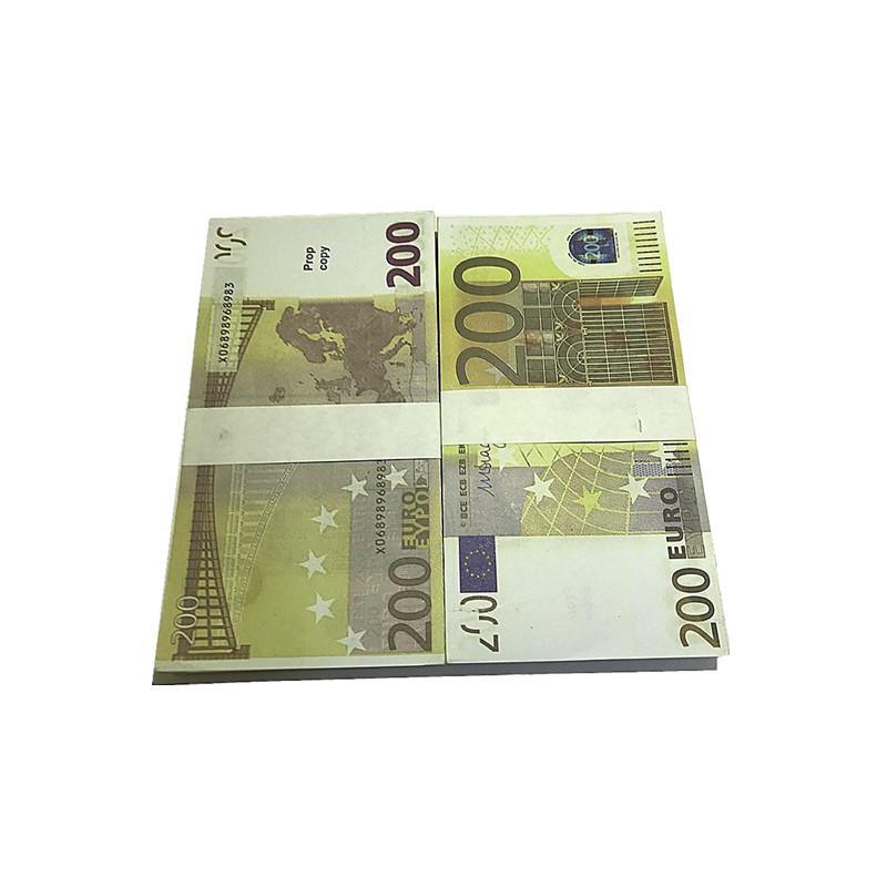 Props Euro Fábrica 1: 1 Regalos Design Copy WaOfb Props Billetes Película Juguetes Niños al por mayor L7 Euro Tiroteo Magic Tmdud