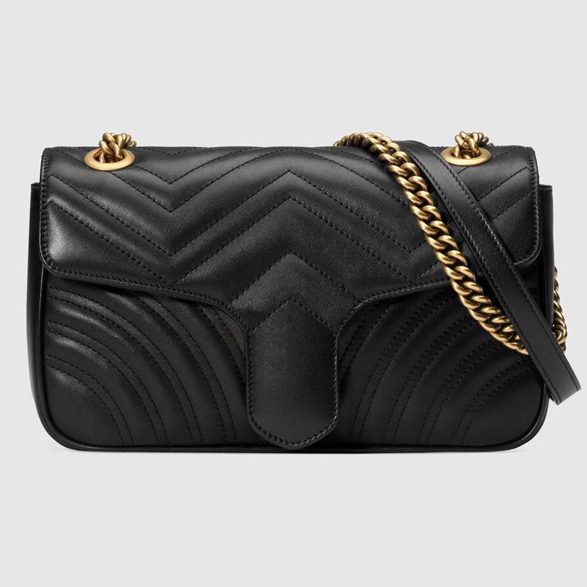 2021 saco marmont Crossbody bolsa de ombro Sacos Womens Bolsas Crossbody Bag Messenger Bags Leather Clutch Mochila Carteira Fannypack ymb034612