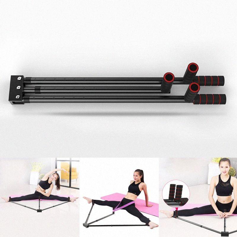 Pierna de hierro camilla 3 Piernas Barra de Herramientas de Capacitación de Extensión de Split Máquina Flexibilidad para Ballet FO Venta 04uD #