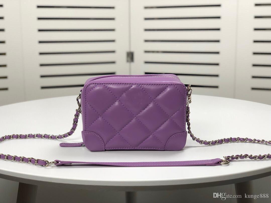 Hohe Qualität Made in echten Lederkupplung Geldbörse Handtasche Tasche Frau Tasche Umhängetasche Seriennummer Inse 9061