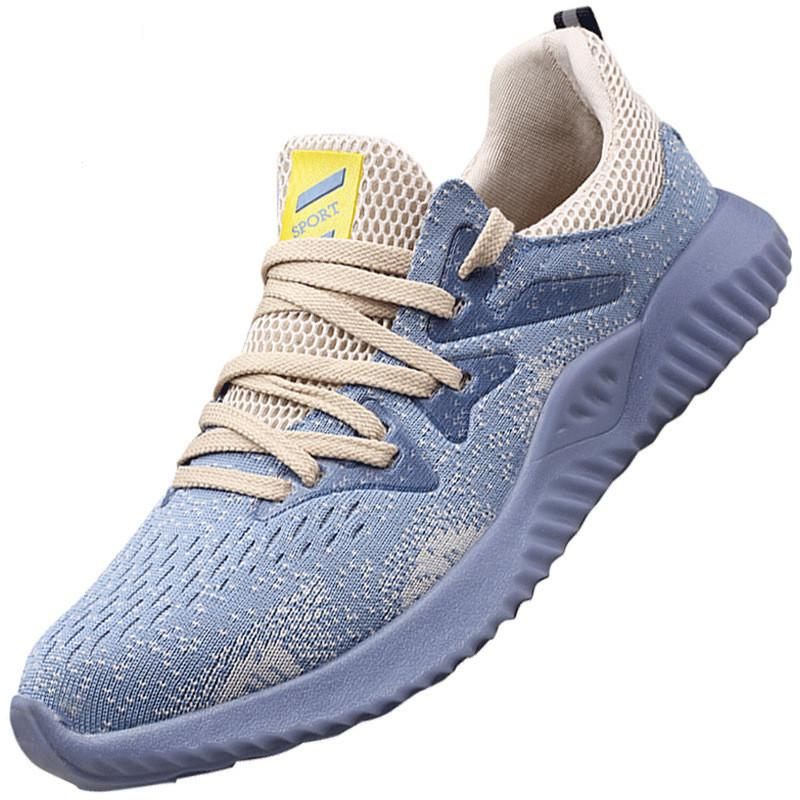 Zapatos para hombre de la venta caliente de seguridad de acero de alta calidad de las botas de trabajo zapatos de punta de seguridad de seguridad de acero del dedo del pie los hombres zapatos transpirables de trabajo Aire