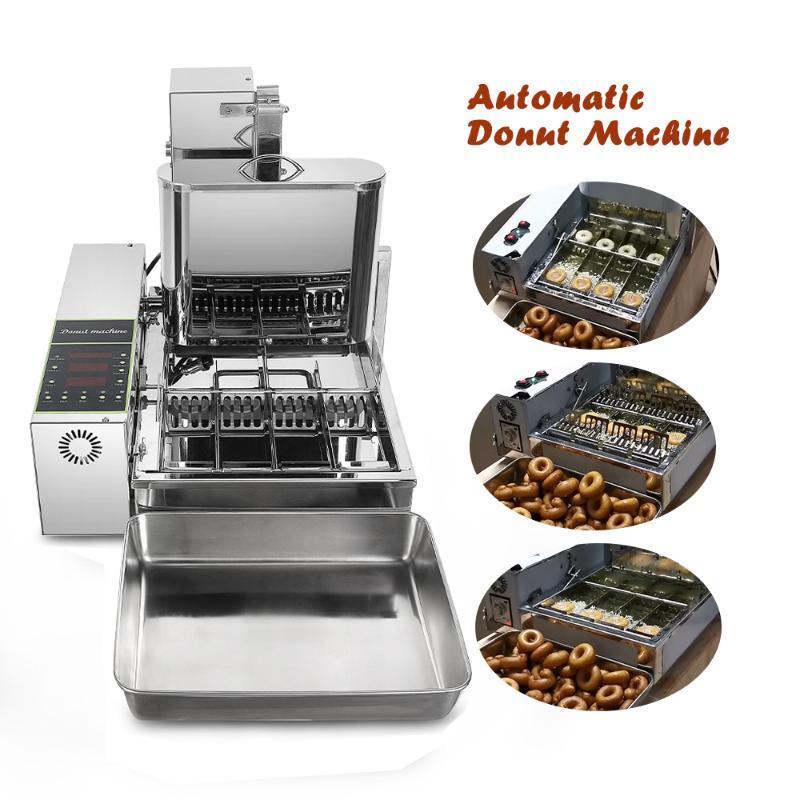 ITop 2000W comerciais Donut Makers 4 linhas Donut elétrica Frying Mini Donut automática Donut Produção Making Machine 6L
