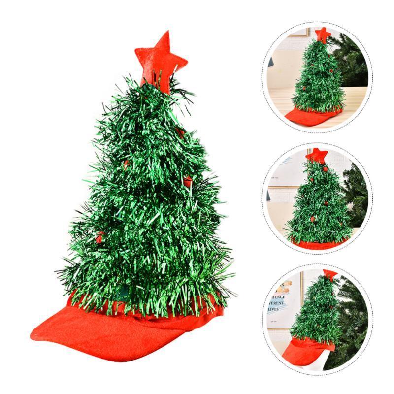 1 pc drôle arbre de Noël capuchon de nouveauté de la fête cosplay costume cosplay