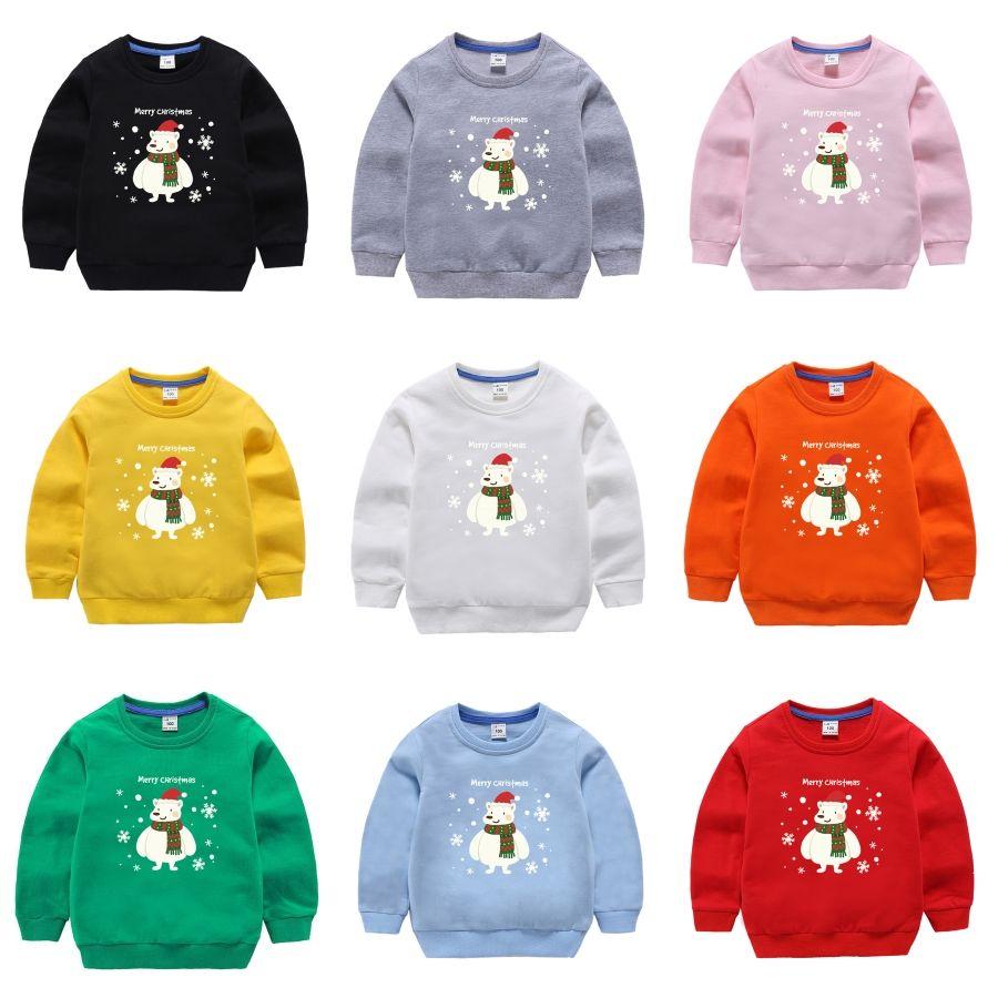 BROWON осень Ребенок O-образный вырез свитер воротник свитер Рождественских свитера вскользь Slim Fit Свитер Детские # 151