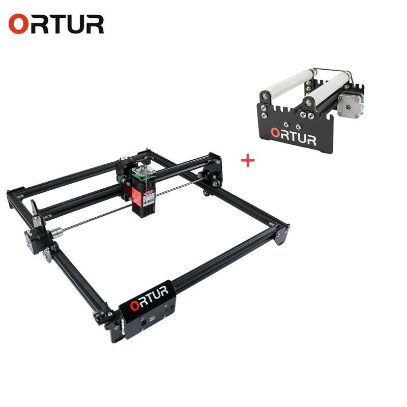 Group Products Ortur CNC Roller Rotation Axis Rotary Attachment Rotate Engraving with High Speed Ortur Laser Master 2 7W/15W/20W